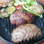 いしがまやハンバーグ みなとみらい - プレミアム ハンバーグステーキ 180g