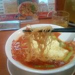 太陽のトマト麺 - 麺