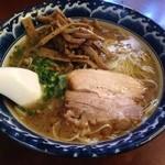 麺食堂 一真亭 - あっさりらーめん醤油味(650円)+メンマトッピング(100円)