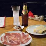 カフェ 鎌倉美学 - クスケーニャ、ハモンセラーノ、ポテトサラダ
