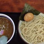 栄勝軒 - 味玉つけ麺800円