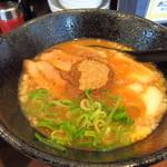 """37846994 - 魚介系""""二代目""""炙り豚らー麺"""