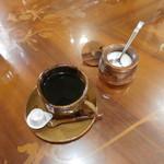オリッサ - 日替わりランチのコーヒー