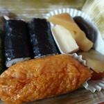 とんかつ まい泉 - 玉手箱の寿司と煮物