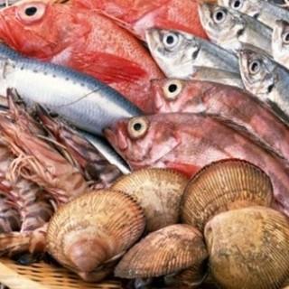 本日入荷の鮮魚・お造りご用意しております!