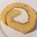 キトハルト - オレンジのロールケーキ(420円)