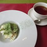 ル・ボン・ヴィボン - 抹茶のティラミス、紅茶