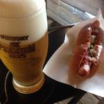 NARAYA CAFE - 生ビール&ホットドッグ