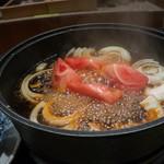 日本料理 大坂ばさら - トマトすきやき