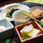 日本料理 大坂ばさら - 八寸別角度