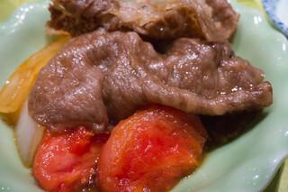 日本料理 大坂ばさら グランフロント大阪店 - お肉のアップ
