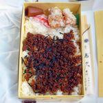 大森鳥久 - そぼろ弁当 ¥500