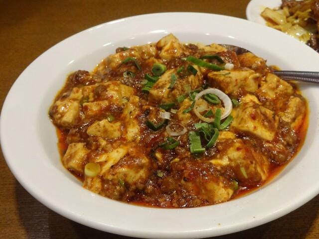 京華樓 - 陳麻婆豆腐(ハーフ)
