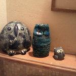 梟 - トイレにもかわいいフクロウが・・・