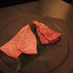 SATOブリアン - 宮崎牛カメノコウ、イチボ2015.5