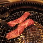 SATOブリアン - 九州和牛厚切りハラミ2015.5