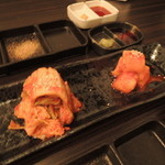 SATOブリアン - 白菜キムチとカクテキ2015.5