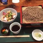37860335 - ランチの海鮮丼セット