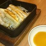馬力屋 - 鉄鍋餃子(五個)