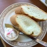 六甲ビューパレス - お得セット スープとパン 430円
