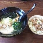 麺屋 さくら - 2015.5月限定 20食/日な塩ラーメン&豚めし