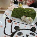 めいどりーみん - ハラルフードならぬ、萌え萌えきゅん済みの抹茶ケーキ