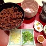 37870779 - ひつまぶし丼(お茶漬けセット)