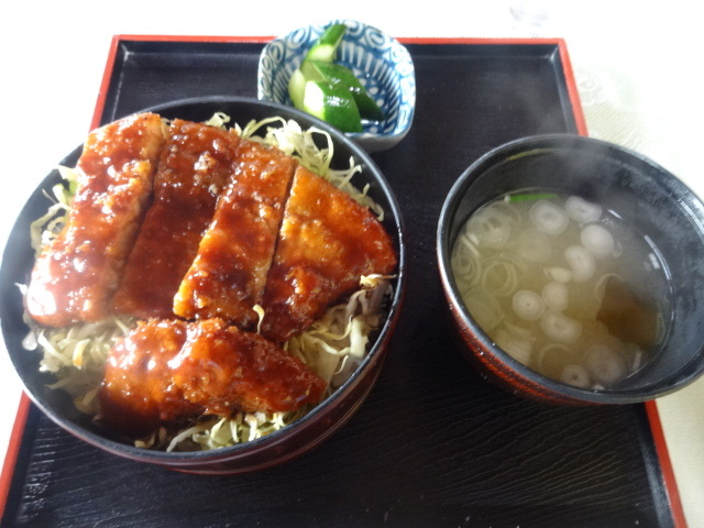 きくのや食堂 - ソースかつ丼¥850☆