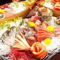 黒木屋宮崎 日南 - 毎日仕入れる新鮮な海鮮1盛り合わせでご用意しております。もちろん単品での注文も可。