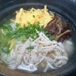 雀庵 - 料理写真:鶏飯