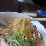 麺職人 暖家 - 麺アップ!