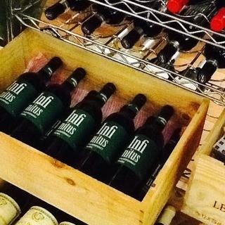 【ワインにこだわる】ワイン50種樽生スパークリング有り