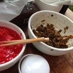 博多 濃麻呂 - 紅ショウガと辛子高菜