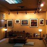 ステーキハウス 芦屋 - お二階のギャラリー