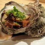 鮨処 竜敏 - サザエのつぼ焼き