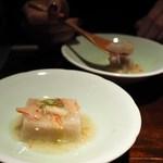 蕎麦懐石 無庵 - そば豆腐 ずわいがにあん