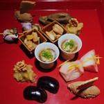 蕎麦懐石 無庵 - 季節の点心