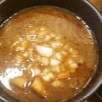 自家製麺ばくばく - 久々の豚骨系魚介醤油ですな!