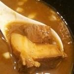 自家製麺ばくばく - 角バラチャーシューたっぷり!