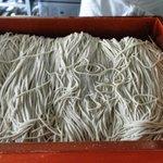 笊蕎麦 刻 - 料理写真:打ちたての蕎麦
