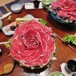 秩父いのしし亭 - いのしし鍋の肉