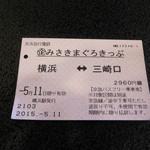三崎館本店 - マグロ切符