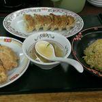 餃子の王将 - 料理写真:セット