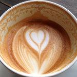 寺崎コーヒー - 最後まで崩れないアート
