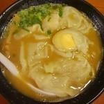 37887456 - 濃厚海老ワンタン麺 卵はサービス券で