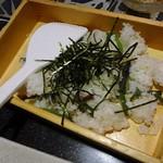 全席完全個室 創作和食 居酒屋 かりん - 山菜のちらし寿司