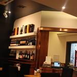 カンティーナ オット - フロントと並ぶワイン☆