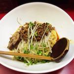 極担々麺 真空 - 汁なし担々麺750円(2015.05)