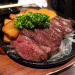 なかなか屋 - 葉山牛炭焼きステーキ(150㌘)1980円