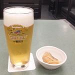 渋谷 松川 - 生ビール